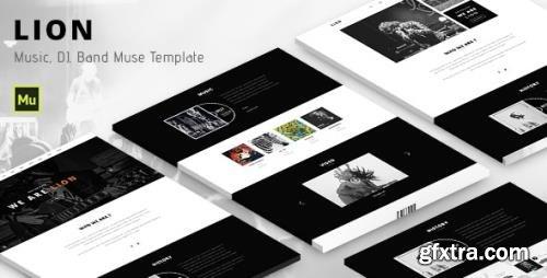 ThemeForest - Lion v1.0 - Music Adobe Muse template - 13642182