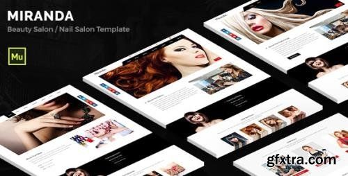 ThemeForest - Miranda v1.0 - Beauty and Nail Salon Muse Template (Update: 7 August 19) - 12445085