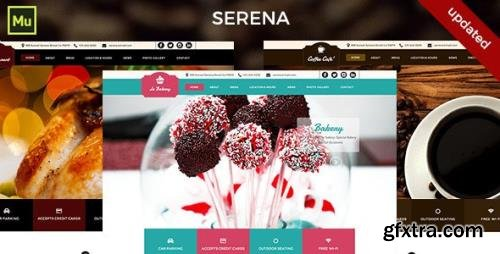 ThemeForest - Serena v1.0 - Muse Template (Update: 14 April 15) - 10748487