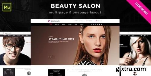 ThemeForest - Beauty Salon Muse Template v1.0 (Update: 30 September 15) - 10567101