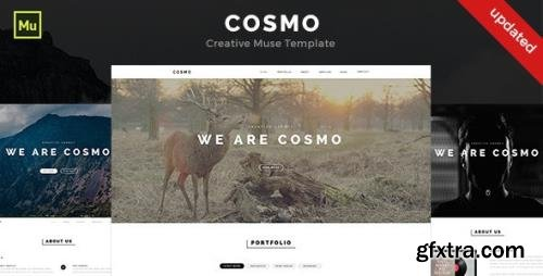 ThemeForest - Cosmo v1.0 - Creative Muse Template - 13169162