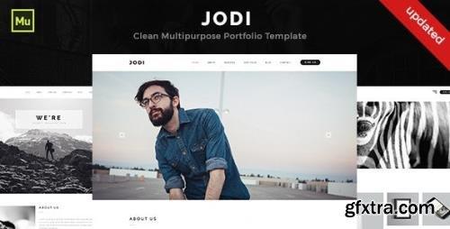 ThemeForest - Jodi v1.0 - Clean Multipurpose Portfolio Template (Update: 30 September 15) - 12911092