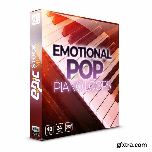 Epic Stock Media Emotional Pop Piano Loops WAV MiDi