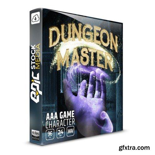 Epic Stock Media AAA Game Character Dungeon Master WAV