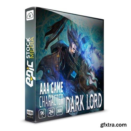 Epic Stock Media AAA Game Character Dark Lord WAV