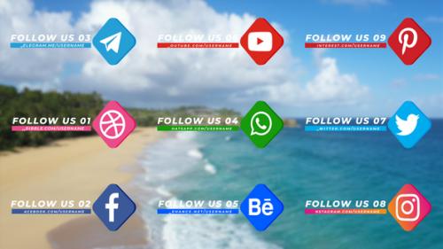 Videohive - Social Media Pack Version 002 - 32665854 - 32665854