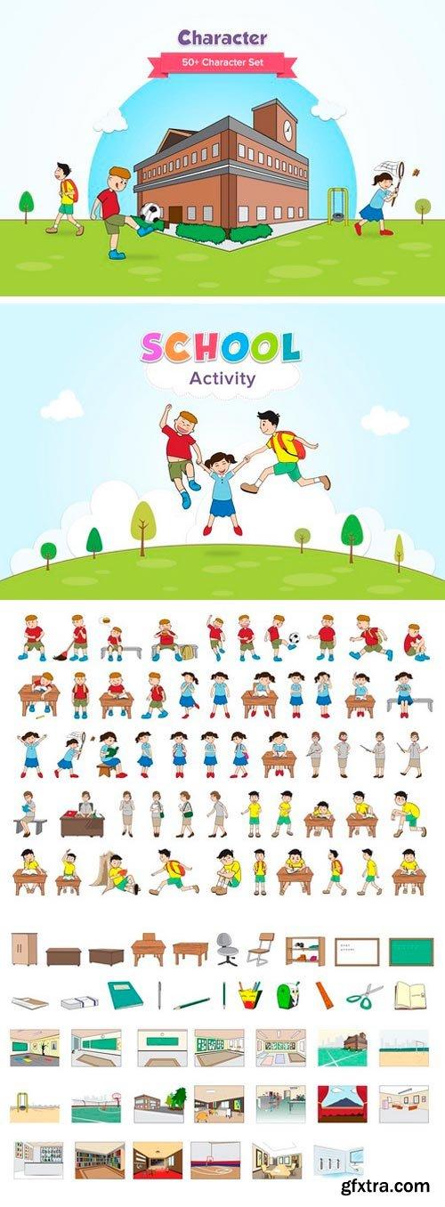 CM - School Activity Characters 1218394
