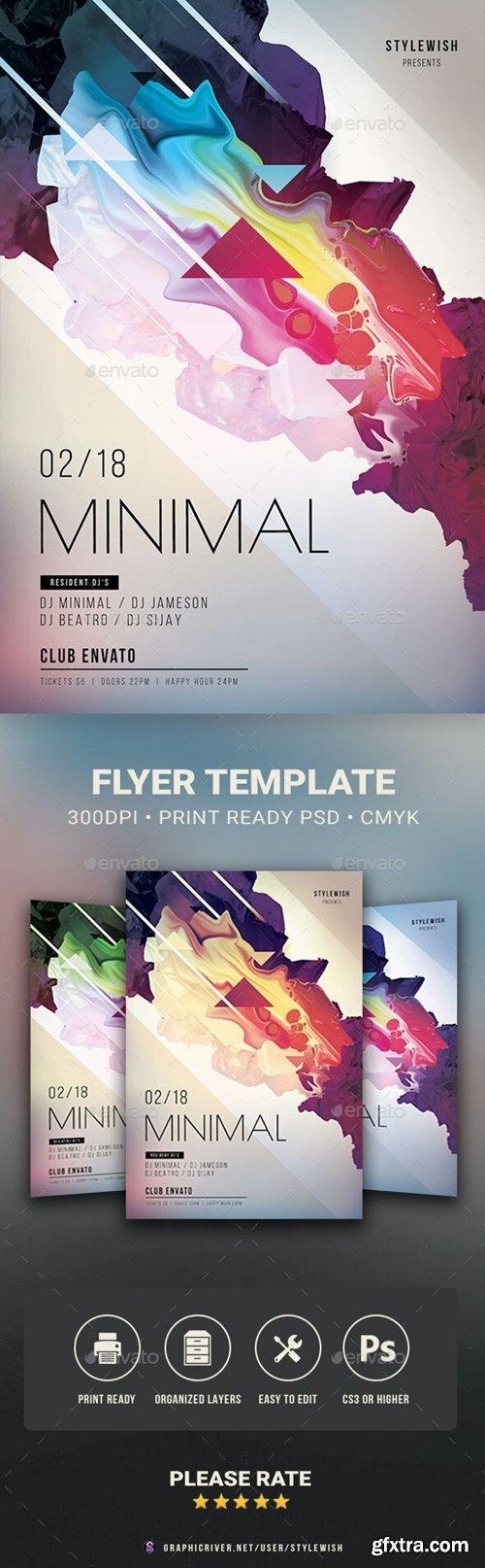 GraphicRiver - Minimal Flyer 32229992