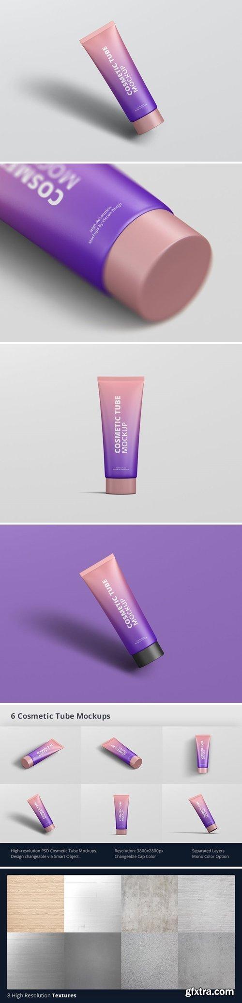 GraphicRiver - Cosmetic Tube Mockup 32580548
