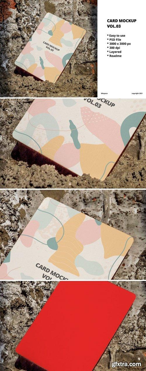 Card Mockup Vol.03