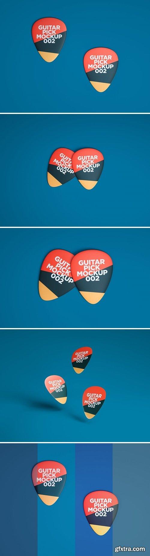 Guitar Pick Mockup 002