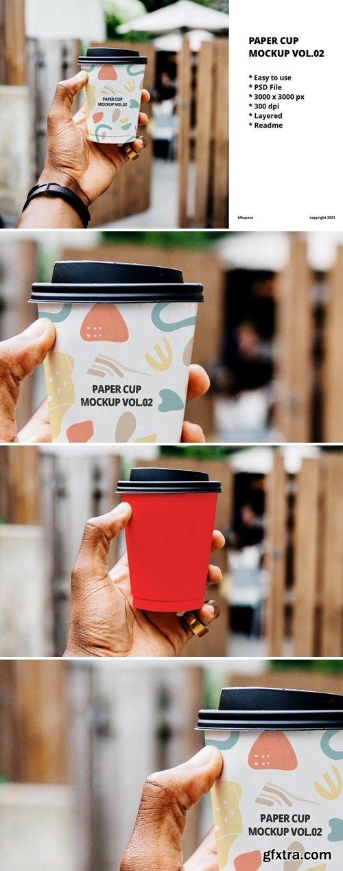 Paper Cup Mockup Vol.02