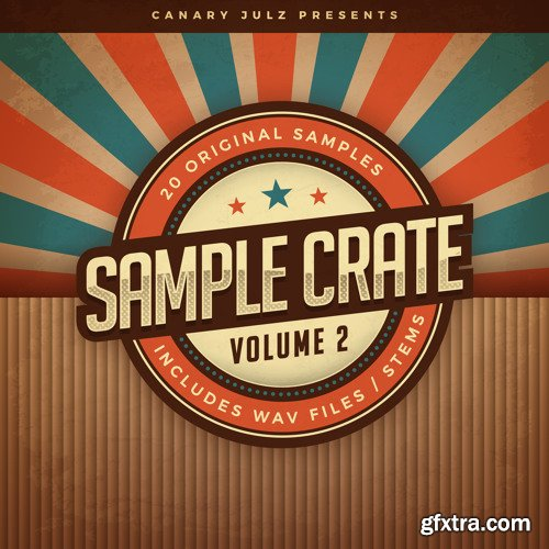 Canary Julz Sample Crate Vol 2 (Compositions And Stems) WAV