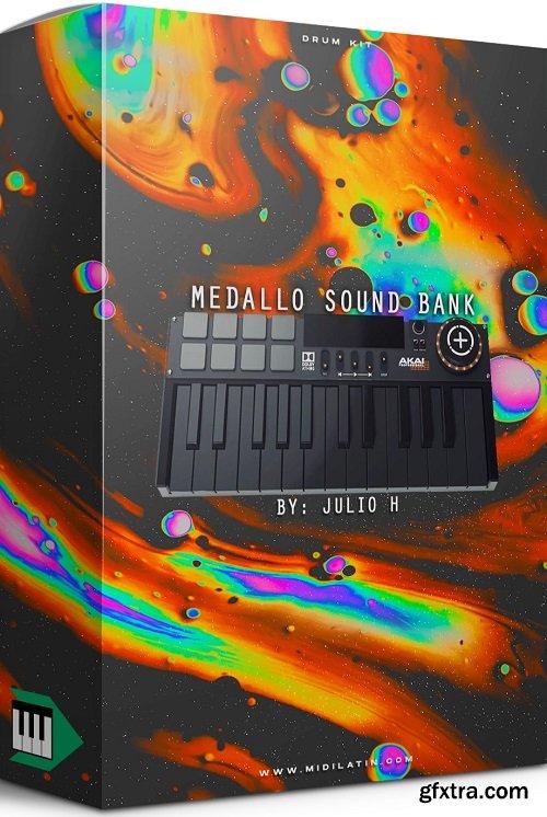 MidiLatino Julio H Medallo Sound Bank WAV