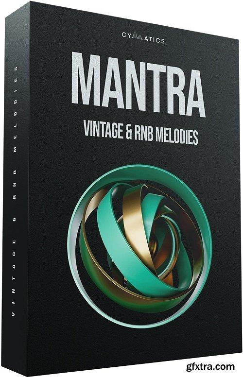 Cymatics Mantra Vintage & RnB Melody WAV MiDi