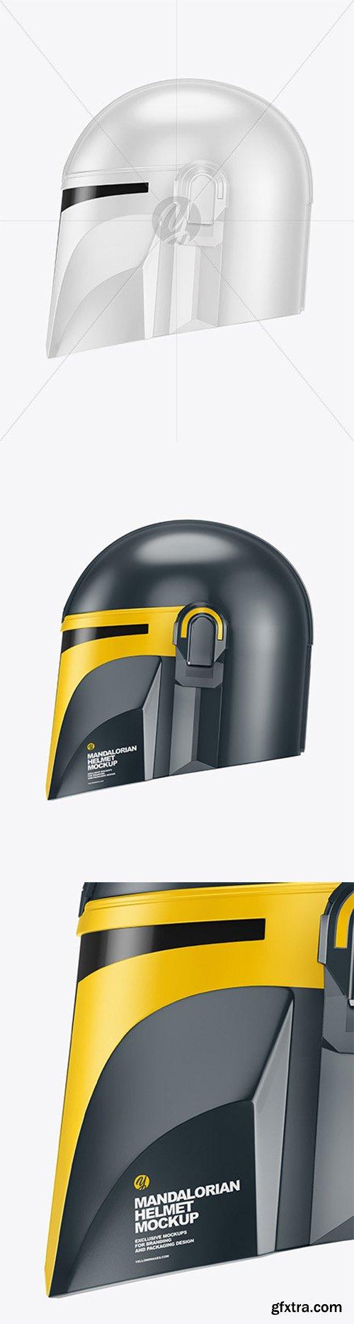 Mandalorian Helmet Mockup 80802