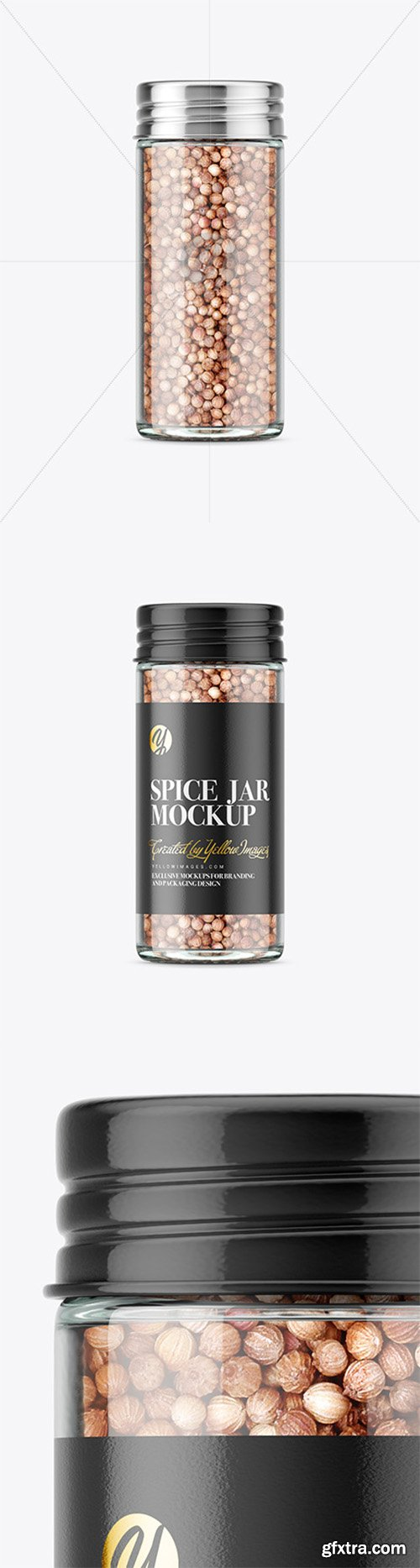 Spice Jar with Coriander Mockup 80834