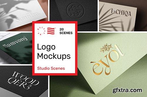 Logo Mockup Print Bundle 82321