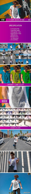 CM - T-Shirt Mock-Up #8 2300078