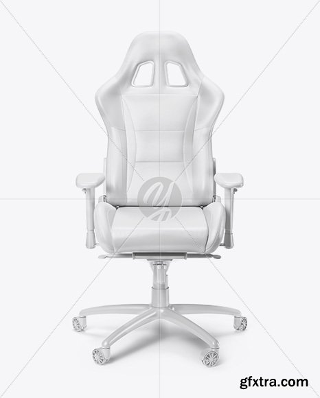 Gaming Chair Mockup - Front View 62156