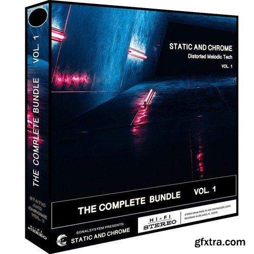 SonalSystem Static and Chrome Distorted Melodic Tech Vol 01 WAV