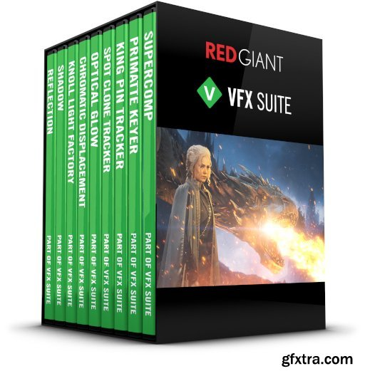 Red Giant VFX Suite 1.5.0 Win/MacOS