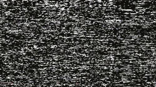 Videohive - Black and White VHS TV Noise Overlay - 32694296 - 32694296