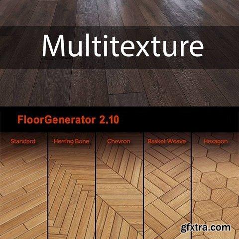 Floorgenerator & Multitexture for 3ds Max 2014-2022