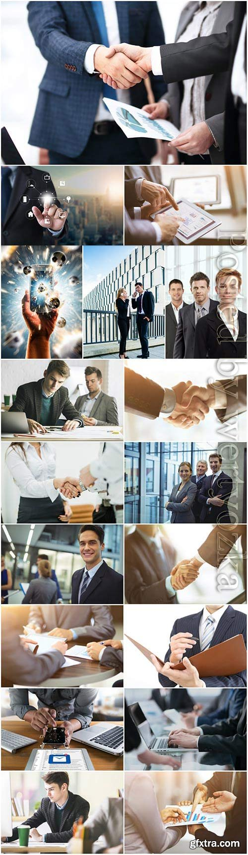 Business concept, business people stock photo