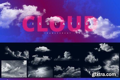 Clouds Set / Transparent Clouds