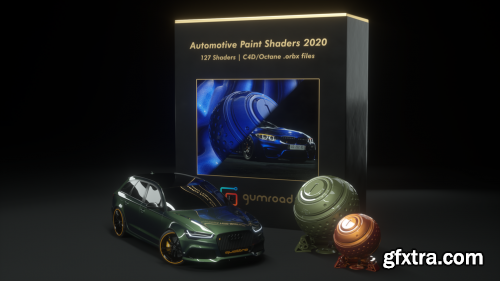 Gumroad - Automotive Paint Shaders 2020 for Octane and C4D