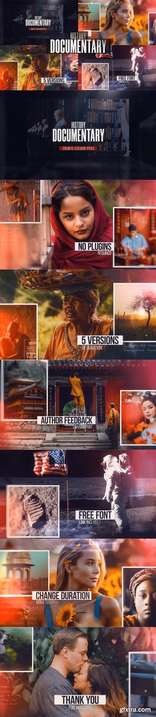 Videohive - History Documentary Slideshow - 32333859