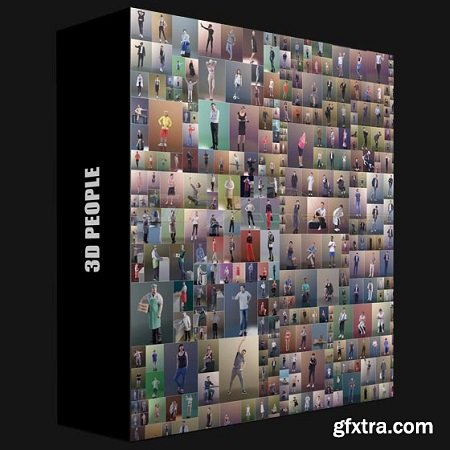 3D PEOPLE – Mega Collection for Cinema 4D