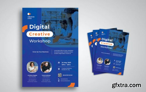 Digital Creative Flyer
