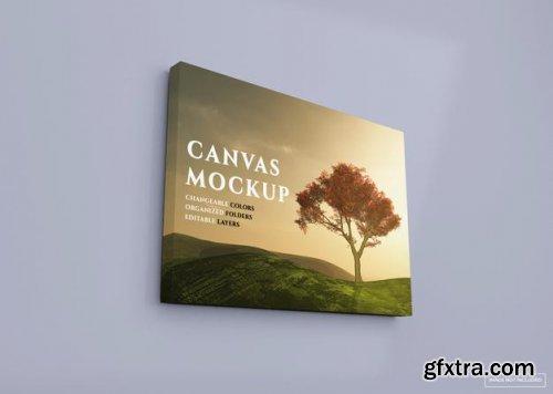 Picture canvas mockup
