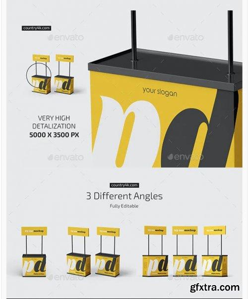 GraphicRiver - Promotion Display Mockup Set 28456624