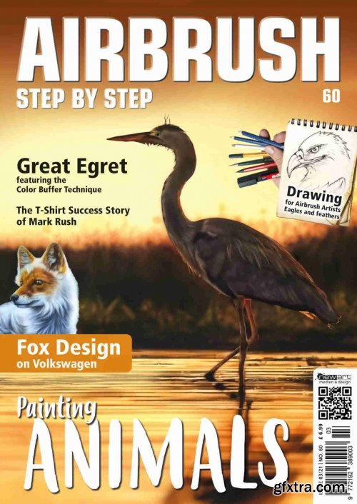 Airbrush Step by Step English Edition - Issue 03, 2021