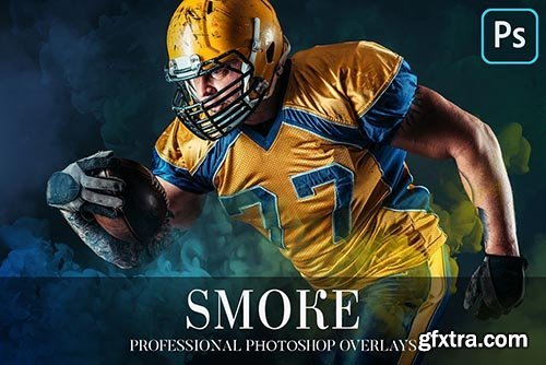 CreativeMarket - Smoke Overlays Photoshop 4940712
