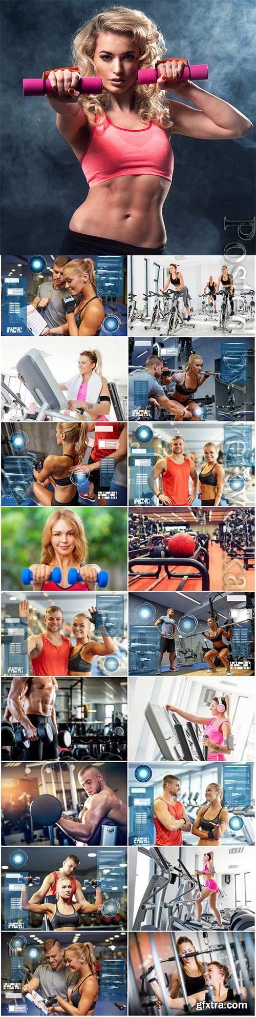 People and sport concept stock photo