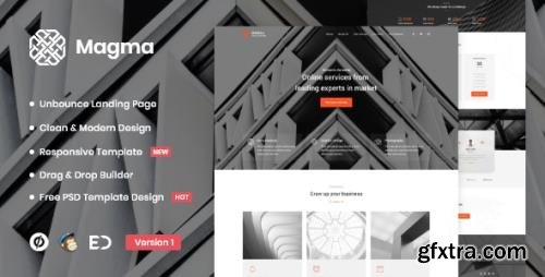 ThemeForest - Magma v1.0 - Business Unbounce Landing Page Template - 29592806