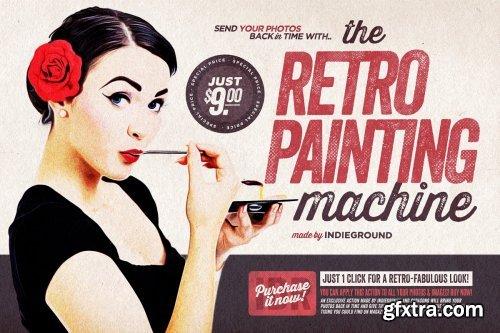 CreativeMarket - The Retro-Painting Machine 4130036