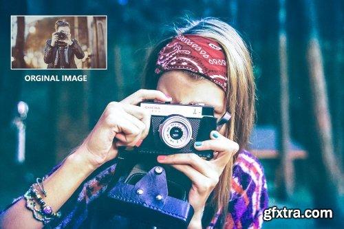 CreativeMarket - Color Correction - PS Action 4257786