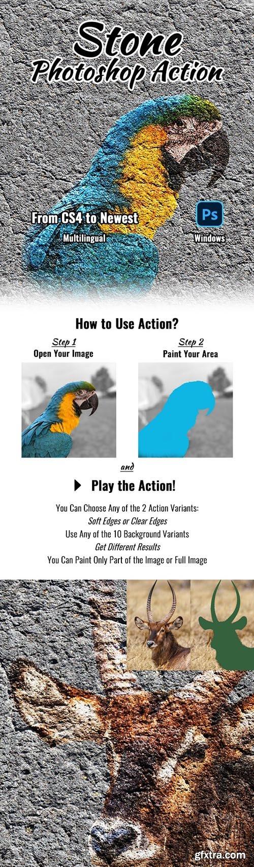 GraphicRiver - Stone Photoshop Action 32010014