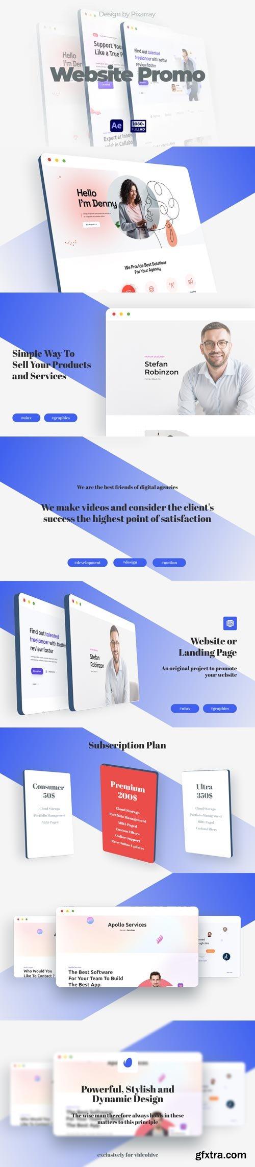Videohive - Website Promo Presentation - 32334345