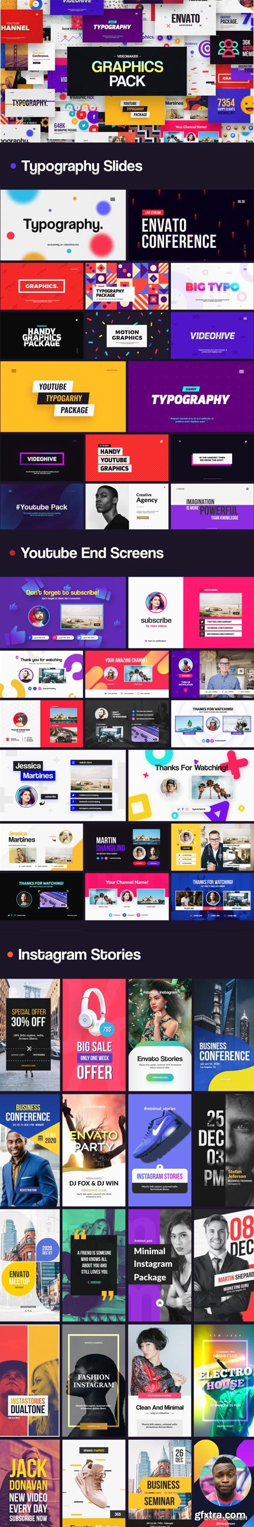 Videohive - Videomaker Graphics Pack - 32196607