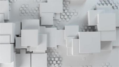 Videohive - Clean White Boxes Background - 33036770 - 33036770