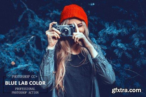 CreativeMarket - Blue Lab Color - PS Action 4262192