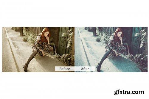 CreativeMarket - 115 Fashion Magazine Photoshop Actions 3937428