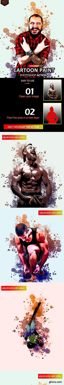 GraphicRiver - Cartoon Paint Photoshop Action 31909126