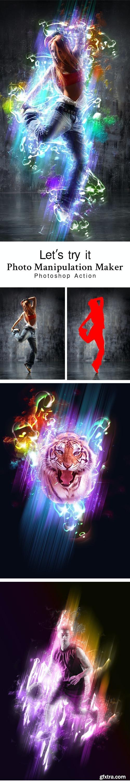 GraphicRiver - Photo Manipulation Maker Photoshop Action 28807039